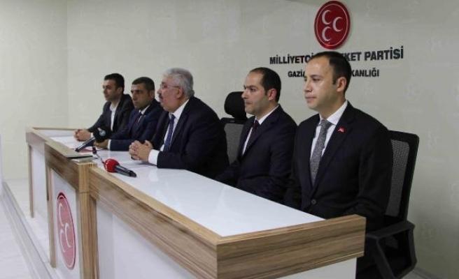 MHP'li Yalçın: FETÖ'nün elemanları o amaçları için hala çaba sarf ediyor