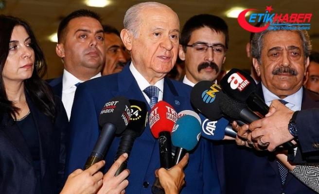 MHP Lideri Bahçeli: Af konusunda kararlıyız ve sözümüzün ardındayız