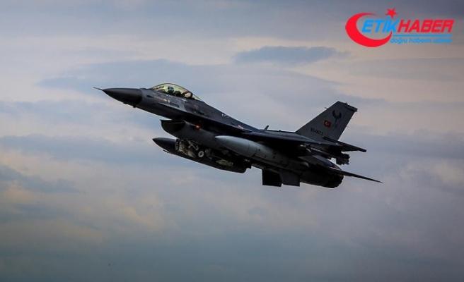 MİT tespit etti, F16'lar vurdu