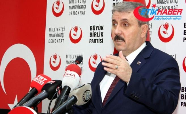 Mustafa Destici: 27 Mayıs demokrasi tarihi açısından kara bir gün