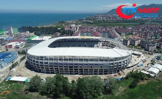 Ordu'nun fındık figürlü yeni stadyumu gelecek sezon açılıyor