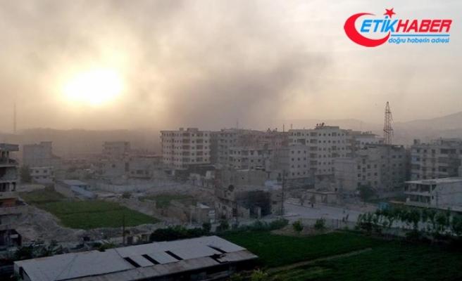 Şam tamamen Esed rejiminin kontrolüne girdi
