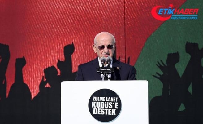 TBMM Başkanı Kahraman: İsrail'i en sert şekilde lanetliyoruz