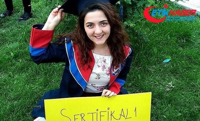 Üniversiteli Damla, mezuniyet töreninden 1 gün sonra kazada öldü