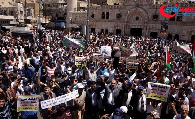 Ürdün'de Filistin'e destek gösterisi