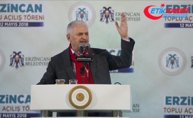 Yıldırım: Cumhur İttifakı'nın hedefi milletin bekasıdır