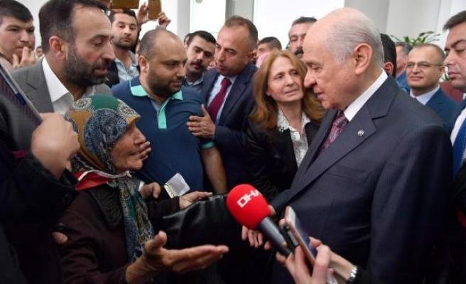 MHP Lideri Bahçeli: İktidar Ramazan Bayramı öncesi adım atarsa af çıkmasında yarar var