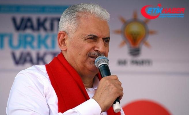 Başbakan Yıldırım'dan küçük esnafa 'vergi' müjdesi