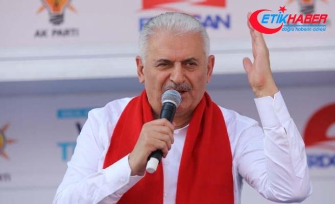 Başbakan Yıldırım: FETÖ'sü, Kandil'i içerideki sponsorları 'Tayyip Erdoğan gitsin' diyor