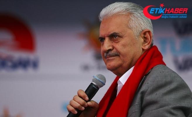 Başbakan Yıldırım: Türkiye üzerinde bir oyun oynanıyor