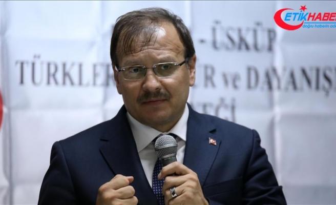 Başbakan Yardımcısı Çavuşoğlu: Bir proje adam getirdiler