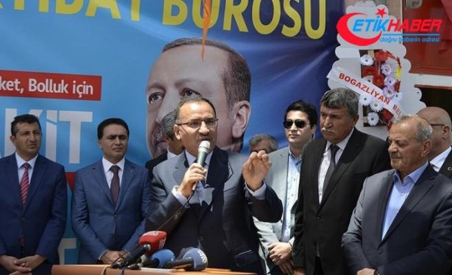 Bozdağ: Davamız, Türkiye'nin bölgesinde tartışılmaz bir güç haline gelmesi