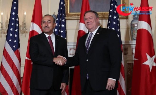 Dışişleri Bakanı Çavuşoğlu: Pompeo görüşmesi çok verimli geçti