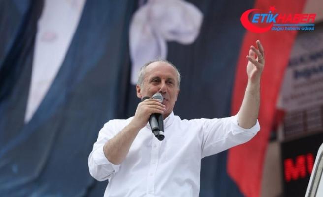 CHP'nin Cumhurbaşkanı adayı İnce: Geleceğe umutla bakacağız