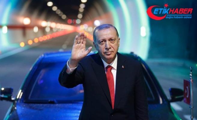 Cumhurbaşkanı Erdoğan: 16 yılda 20 bin kilometre bölünmüş yol yaptık
