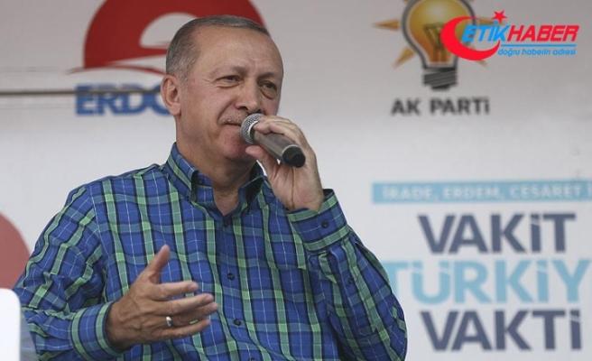 Cumhurbaşkanı Erdoğan: Hesabı da hesap yapanı da anında tanırız
