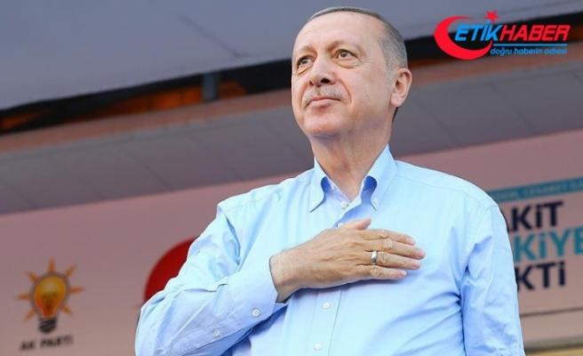Cumhurbaşkanı Erdoğan: Kartalımıza güzel bir millet bahçesini yapacağız