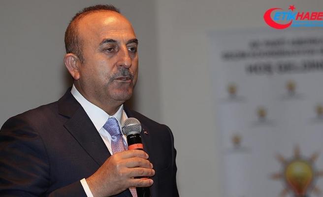 Dışişleri Bakanı Çavuşoğlu: Bu seçim, Türkiye Cumhuriyeti tarihinin en önemli seçimidir
