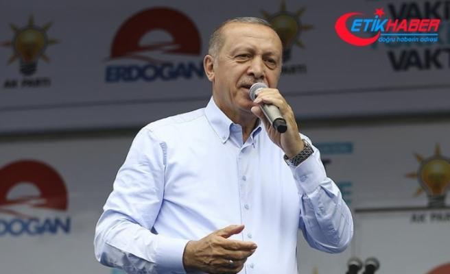 Erdoğan: Kandil'e, Sincar'a operasyonlarımızı başlattık