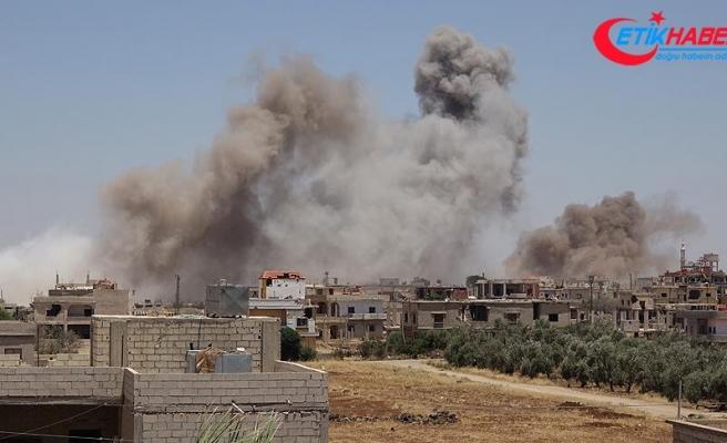 Esed rejimi Dera'da yine sivilleri vurdu