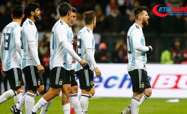 Filistinlilerden Arjantin'e 'İsrail ile Kudüs'te maç yapmayın' çağrısı