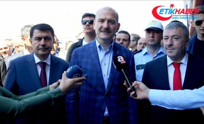 İçişleri Bakanı Soylu: Ekiplerimiz 24 saat esasına göre görev yapacak