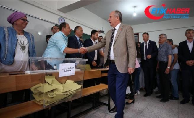 İnce'nin oy kullandığı sandıktan en çok oy Erdoğan'a çıktı