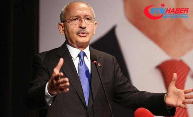 Kılıçdaroğlu: Cumhurbaşkanı 81 milyonu kucaklamak zorundadır