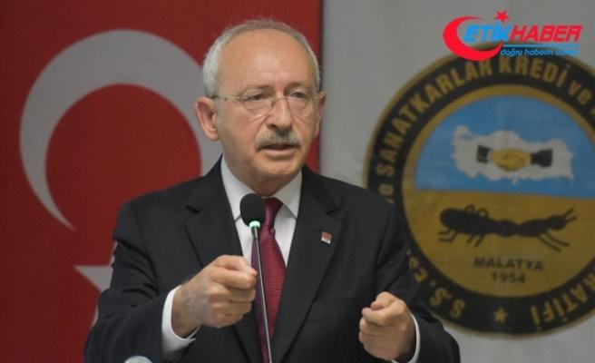Kılıçdaroğlu: İlk yapacağımız işlerden bir tanesi Esnaf Bakanlığı kurmaktır