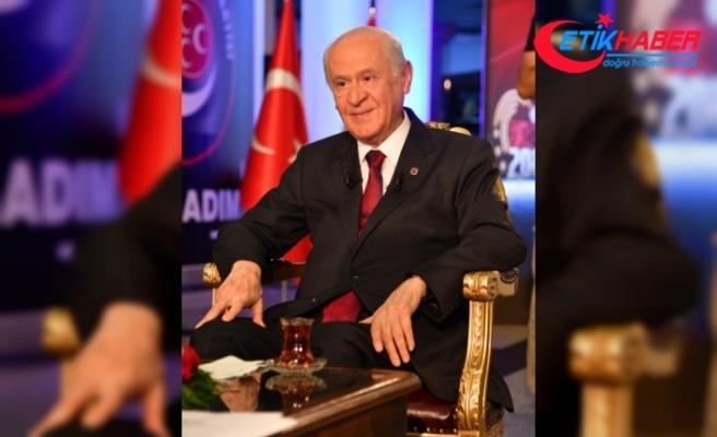 MHP Lideri Bahçeli: Tarih cahilleri bekayı bilmez, ecdadı özümsememiş köksüzler bekayı itiraf edemez