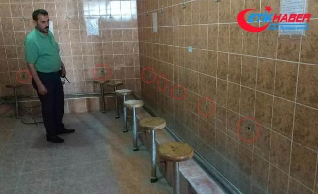 Ramazan ayında camilerin musluklarını çaldılar