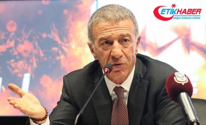 Trabzonspor Kulübü Başkanı Ağaoğlu: Muharrem Usta'dan sözünü tutmasını bekliyoruz