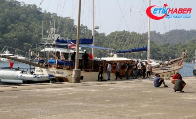 30 kişilik tekneden 174 kaçak göçmen çıktı