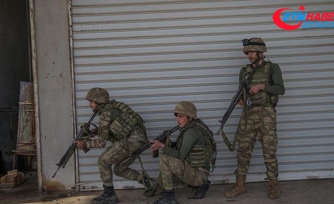 Afrin'de son bir haftada 15 terörist etkisiz hale getirildi