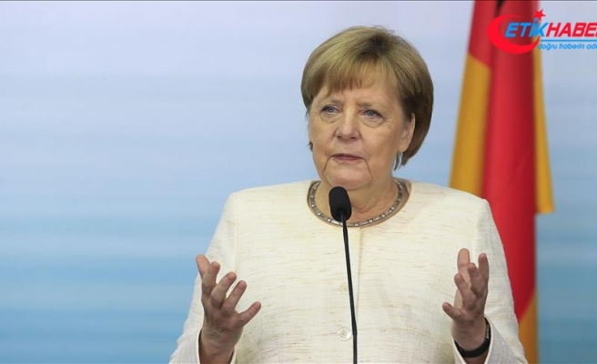 Almanya Başbakanı Angela Merkel: Bu, Almanya tarihinde kara bir lekedir