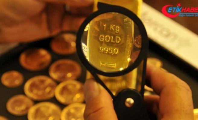 Altının gram fiyatı, 2 haftanın en düşük seviyesini gördü