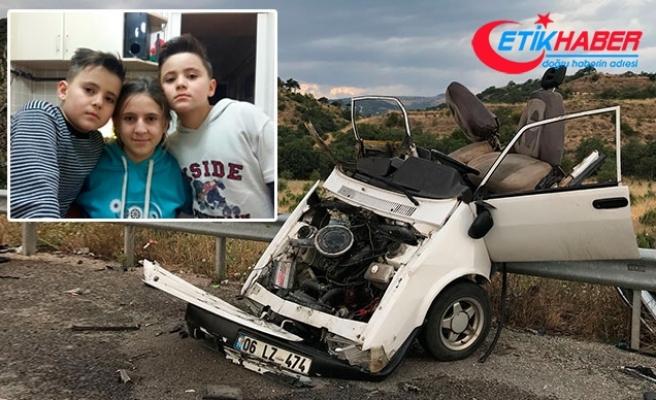 Ankara'daki kazada, ikiz kardeşler de yaşamını yitirdi