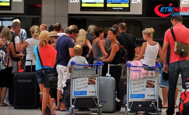 Antalya'ya havayoluyla gelen turist sayısı yüzde 34 arttı