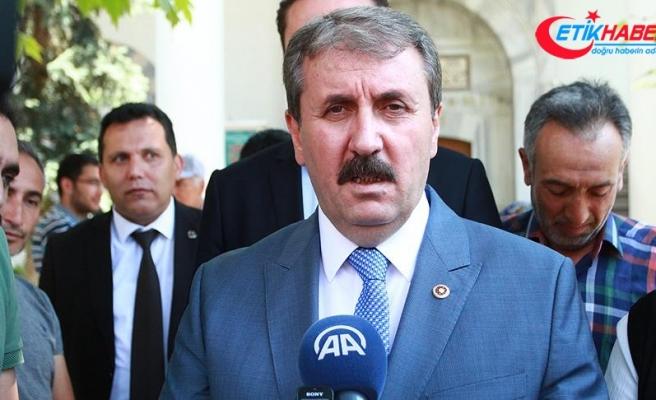 BBP Genel Başkanı Destici: (Millet ittifakı) Öküz öldü ortaklık bozuldu