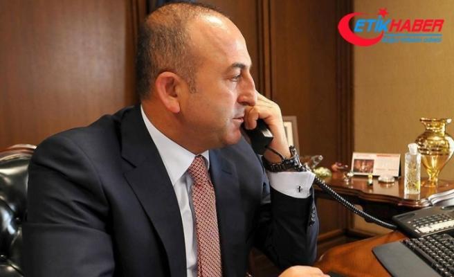 Çavuşoğlu'ndan Pompeo'ya 'Türkiye tehdide boyun eğmez' vurgusu