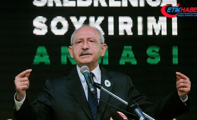 CHP Genel Başkanı Kılıçdaroğlu: Avrupa Türkiye'ye ders vermek istiyorsa önce kendine baksın