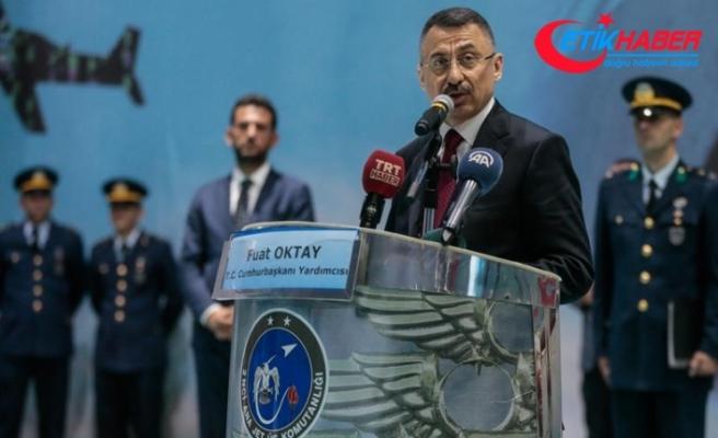 Cumhurbaşkanı Yardımcısı Fuat Oktay: Bugün çok daha güçlü bir Türk Silahlı Kuvvetlerimiz var