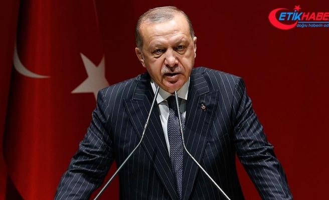 Cumhurbaşkanı Erdoğan: İnsanlık suçlarının tekrarlanmaması için birlikte mücadele edeceğiz