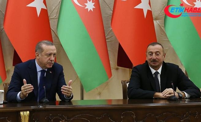 Cumhurbaşkanı Erdoğan: Savunma sanayisinde ihracatı artıran bir Türkiye var.