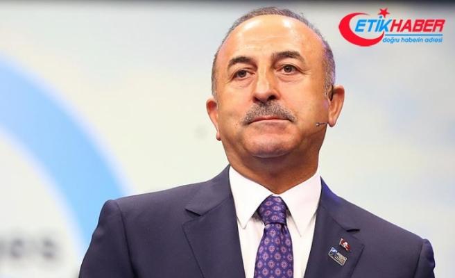 Dışişleri Bakanı Çavuşoğlu: Kimse Türkiye'ye dayatmada bulunamaz