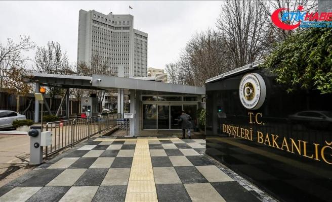 Dışişleri Bakanlığından Kabil'deki terör saldırılarına kınama