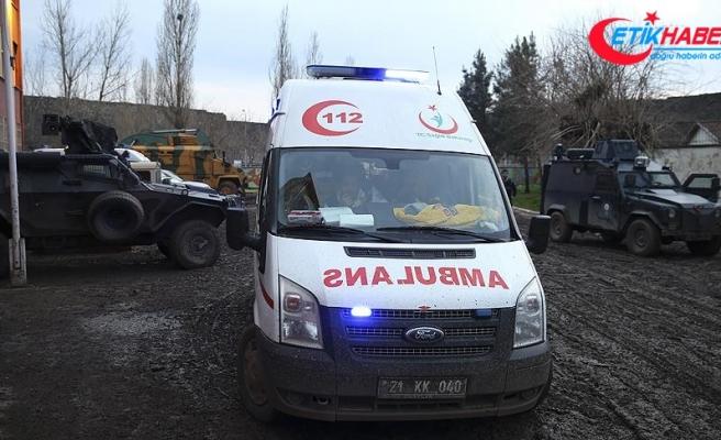 Diyarbakır'da terör saldırısı: 1 şehit, 1 yaralı
