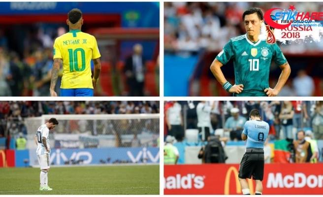 Dünya Kupası yarı finalleri '5 büyükler'den yoksun