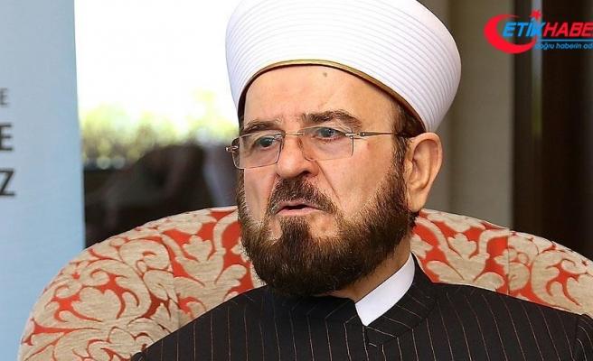Dünya Müslüman Alimler Birliği'nden Türk halkına tebrik mesajı