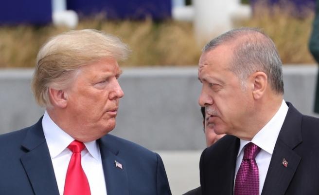 Erdoğan ve Trump aile fotoğrafı çekimine birlikte geldi